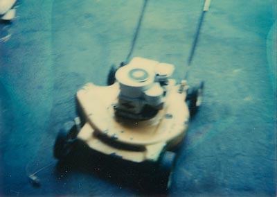 Shreiner Tree Care's mower in 1984