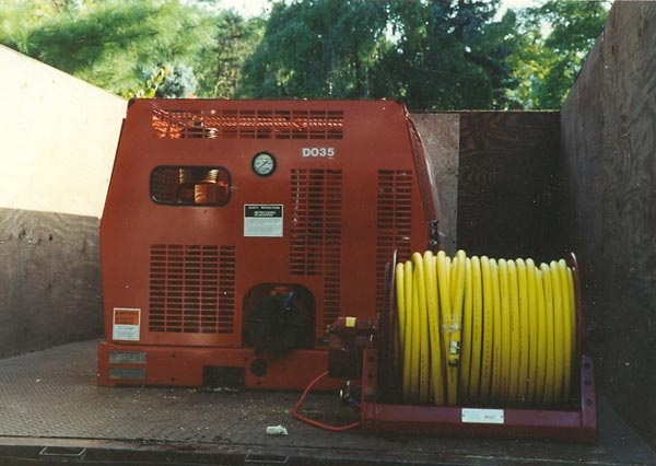 Shreiner Tree Care's sprayer in 1988
