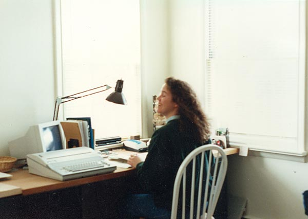 Shreiner Tree Care's office manager in 1992