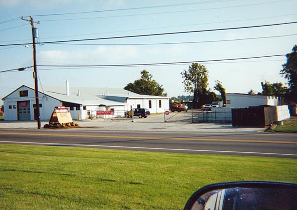 Shreiner Tree Care's facility in 2003