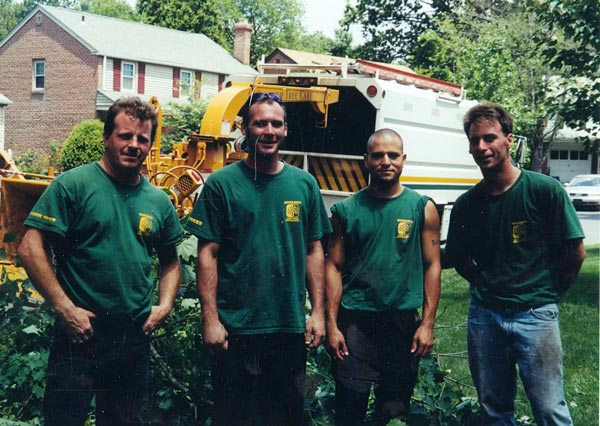 Shreiner Tree Care's crew in 2004