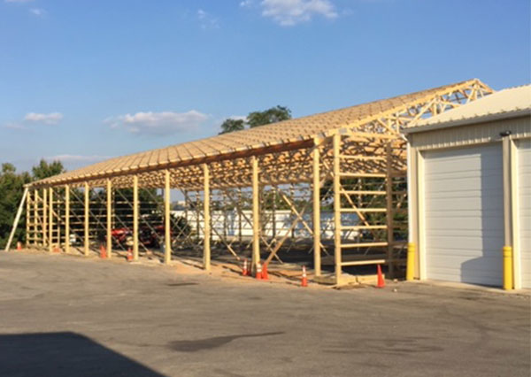 Shreiner Tree Care installing more garages on location in 2015