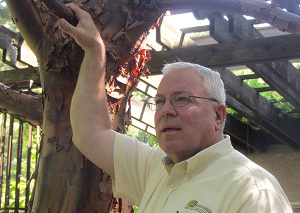Shreiner Tree Care's retirement party for Dean in 2020