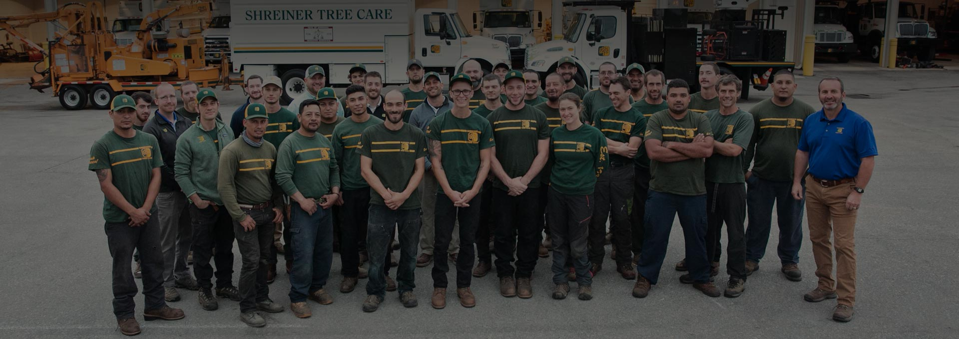 Shreiner Tree Care team picture of certified arborists